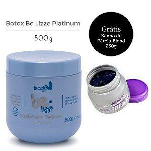 Leads Care Botox Capilar Be Lizze Platinum Recondicionante 500g