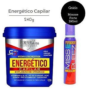 Forever Liss Energético Capilar Máscara Ultra Concentrada 240g