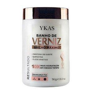 Banho de Verniz Ykas Máscara Hidratante 1kg