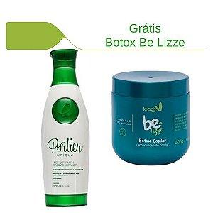 Portier Unique Reestruturação Capilar 1000ml + Botox Be Lizze grátis!
