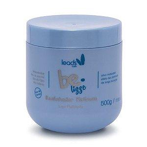 Leads Care Botox Capilar Be Lizze Platinum Recondicionante 500g + brinde!