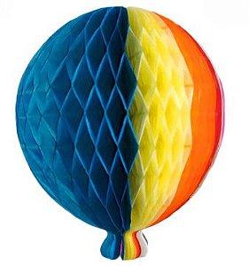 Balão Colmeia Junino 25Cm Un.