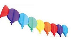 Varal de Balões Junino 3Metros Un.