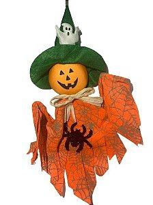 Enfeite Suspenso Abobora Halloween Un.