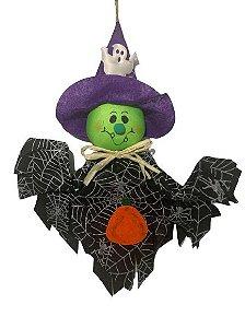 Enfeite Suspenso Bruxinho Halloween Un.