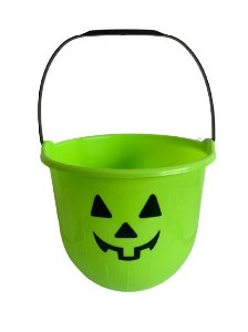 Baldinho Verde P/ Doce Halloween 15Cm Un.
