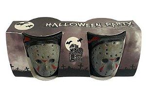 Copo Shots e Doses Halloween C/ 2 Un.