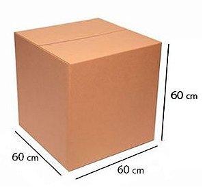 Caixa de Papelão P/ Mudança Nova (GG) A60XL60XC60Cm C/ 5 Un.
