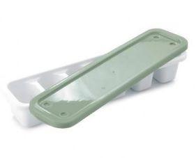 Forma P/ Gelo Branca C/ Tampa Verde Plasútil Un.