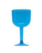 Taça em Acrílico Gin 500Ml Azul C/ 4 Un