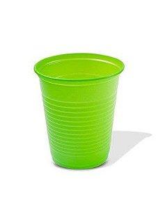 Copo Descartável 200 ml. Verde Claro Trik ABNT Pcte c/ 50 un.