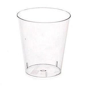 Copo em Acrilico Cristal 40 ml. Plastilania Cx C/ 1.000 Un.