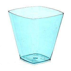 Copo em Acrilico Azul 50 ml. Plastilania C/ 10 Un.