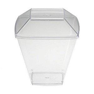 Copo em Acrilico Cristal 151 ml. C/TP Plastilania Cx C/ 400 Un.