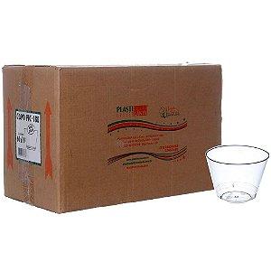 Copo em Acrilico Cristal 180 ml. Plastilania Cx C/ 600 Un.