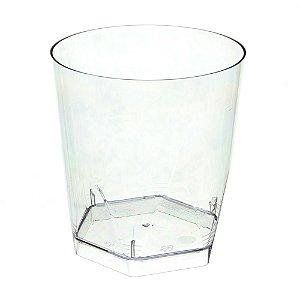 Copo em Acrilico Cristal 280 ml. Plastilania C/ 5 Un.