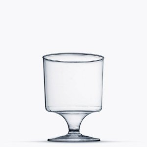 Taça em Acrilico Cristal 150 ml. Plastilania C/ 10 Un.