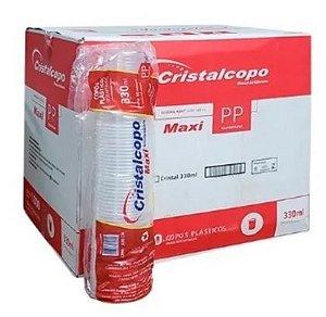 Copo PP Transp. 330 ml. Cristalcopo Cx C/ 1000 un.