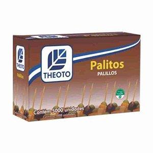 Palito de Dente Theoto Cx C/ 5.000 Un.