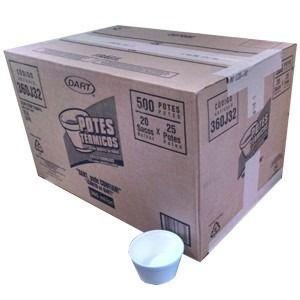 Pote Térmico 360 ml. J 32 Dart Cx C/ 500 Un.