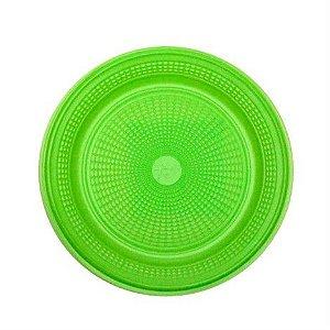 Prato 15 Cm Red. Verde Trick C/ 10 Un.
