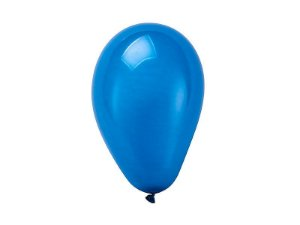 Balão Azul Escuro Nº 6.5 Regina C/ 50 Un.