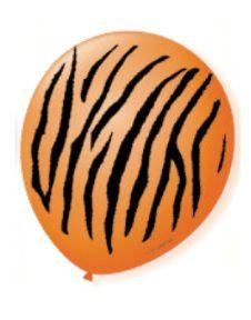 Balão Nº 9 Safari Tigre São Roque C/ 25 Un