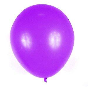 Balão Big Liso Lilas Santa Clara Un.