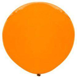Balão Big Liso Laranja Santa Clara Un.