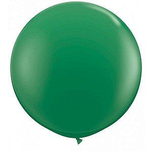 Balão Big Liso Verde Escuro Santa Clara Un.