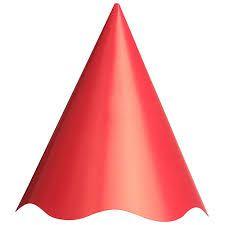 Chapéu Aniversario Vermelho Regina C/ 8 Un.
