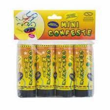 Confetes Mine Colorido Mundo Bizarro C/ 4 Un.