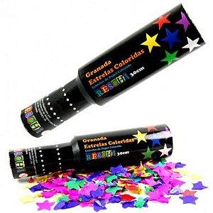 Confetes Granada de Estrelas Coloridas Reschi 30 Cm.