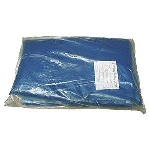 Saco Lixo Azul 60 Litros C/ 100 Un.