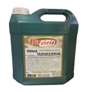 Água sanitária Vitória C/ 5 Lts