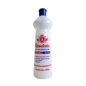 Álcool Gel 46% Absoluto C/ 500 gr.