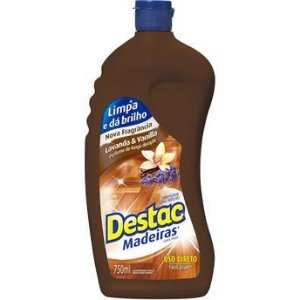 Cera P/ Madeiras Destac C/ 750 Ml