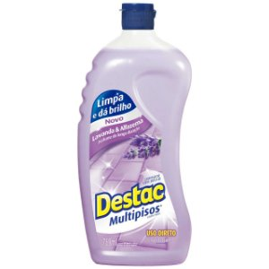 Cera P/ Multipisos Destac C/ 750 Ml