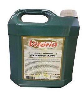 Cloro 12% Vitória C/ 5 Lts