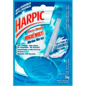 Bloco Sanitário Harpic Marine C/ 26 Gr.