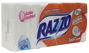 Sabão em Pedra Coco Razzo C/ 5 Un.