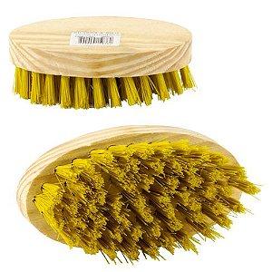 Escova de Madeira Oval Un.