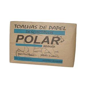 Papel Toalha Interf. Polar Branco 23x21 Cm C/ 1.000 Fls