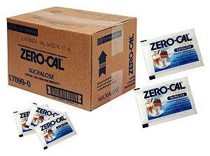 Adoçante em Sache Zero Cal Sucralose Cx C/ 1.000 Un.