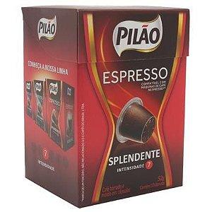 Cafe Espresso Pilão Splendente Cx C/ 10 Capsulas