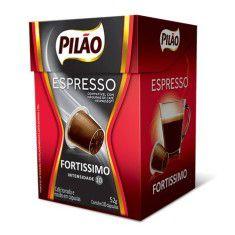 Cafe Espresso Pilão Fortissimo Cx C/ 10 Capsulas
