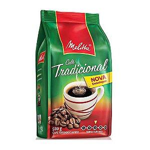 Cafe Melitta Trad. Pouch 500G Cx C/ 10 Un.