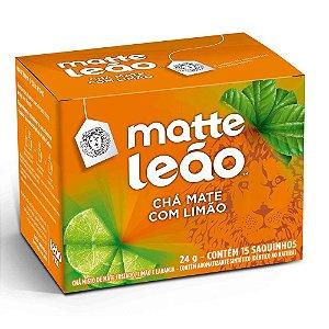 Chá Mate C/ Limão Leão Cx C/ 15 Saches