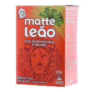 Chá Mate Natural a Granel Leão Cx C/ 250 g