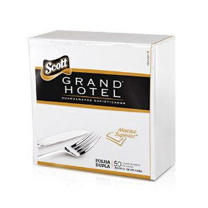 Guardanapo Grand Hotel F.D 33x33 Cm C/ 50 Un.